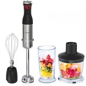 ihocon: VAVA 4合1 Hand Blender with TRUELY BPA-free Tritan Beeker & Chopper Bowl