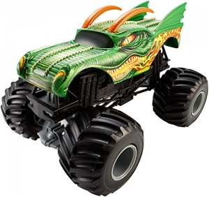 ihocon: Hot Wheels Monster Jam 1:24 Scale Dragon Vehicle 風火輪 1:24 龍車