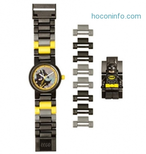 ihocon: LEGO Batman Movie 8020837 Kids Minifigure Watch樂高蝙蝠俠童錶