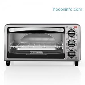 ihocon: BLACK+DECKER TO1313SBD 4-Slice Toaster Oven 小烤箱