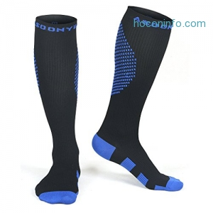 ihocon: ASOONYUM Nurse Compression Socks 20-30 mmHg for Men & Women壓力襪