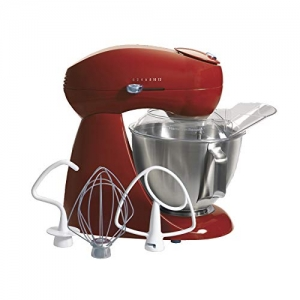 ihocon: Hamilton Beach 63232 Eclectrics All-Metal Stand Mixer - Red 立式攪拌機