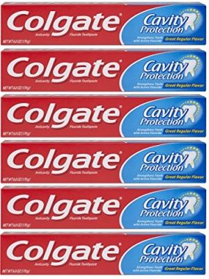 Colgate高露潔牙膏 6個 $6.66免運(原價$8.88, 25% Off)