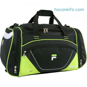 ihocon: Fila Acer Large Sport Duffel Bag 4 Colors Gym Duffel NEW