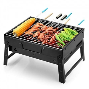 ihocon: Uten Lightweight Foldable Charcoal Grill 便攜式木炭BBQ烤爐