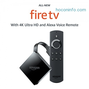 ihocon: Fire TV with 4K Ultra HD and Alexa Voice Remote