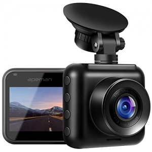 ihocon: APEMAN Dash Cam 1080P Full HD, 170° Wide Angle, Motion Detection, G-Sensor, Loop Recording, Night Vision 高清行車記錄器