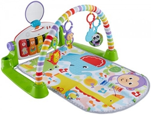 ihocon: Fisher-Price Deluxe Kick 'n Play Piano Gym 踢踢琴音樂遊戲墊