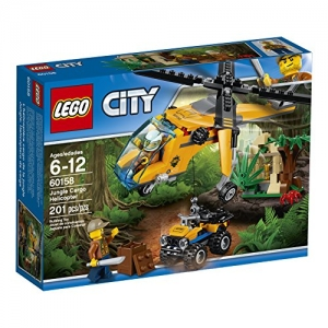 ihocon: LEGO City Jungle Explorers Jungle Cargo Helicopter 60158 (201 Piece)