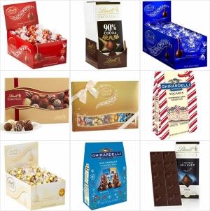 [Amazon今日特賣] Lindt 及 Ghirardelli巧克力 特價+免運費