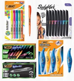 [Amazon 今日特賣] BIC各種筆及White Out修正液 特價優惠