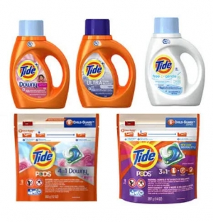 ihocon: Tide HE Original Liquid Detergent, 40-Oz 洗衣精 - 多款可選