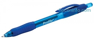 ihocon: Paper Mate Profile Retractable Ballpoint Pens, Bold (1.4mm), Blue, 12 Count