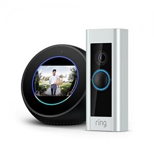 ihocon: Echo Spot - Black + Ring Video Doorbell Pro bundle