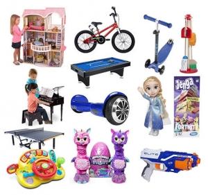 超讚!! Amazon: 兒童玩具(共37頁)滿$50就可$10 off