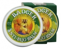 ihocon: Badger Anti-Bug Balm Tin .75 oz天然草本防蚊軟膏
