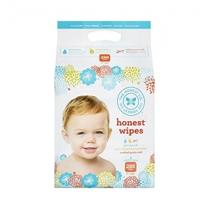 ihocon: The Honest Company Honest Company Baby Wipes, Fragrance Free, Classic, 288 Count無香精濕巾