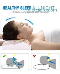 ihocon: Noctura Pillow for sleeping Contoured Support Pillows for Neck/Shoulder