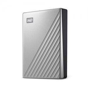 ihocon: WD 4TB MyPassportUltra SilverPortable External Hard Drive, USB-C 外接硬盤