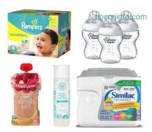 Target: 尿片, 濕紙巾,奶粉, 嬰兒食品….等嬰兒用品,  買$75就送$15 Gift Card!