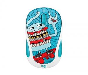 ihocon: Logitech m317c Wireless Mouse Skate Burger 無線滑鼠