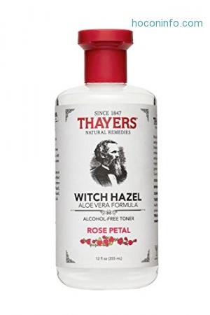 ihocon: Thayer - Witch Hazel Toner-Rose Petal Alc.Fr, 12 fl oz liquid