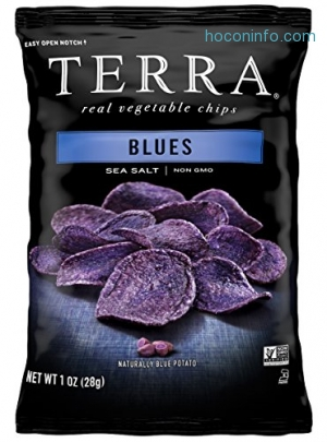 ihocon: Terra Blues Chips with Sea Salt, 1 oz. (Pack of 24)