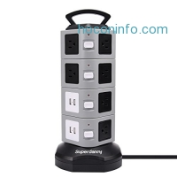 ihocon: Superdanny 14-Outlet Power Strip Surge Protector