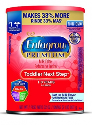 ihocon: Enfagrow PREMIUM Toddler Next Step Natural Milk Powder, 32 Ounce Can, Pack of 6 幼兒奶粉