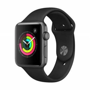 ihocon: Apple Watch Series 3 42mm GPS Smartwatch with White Sport Band - 2色可選
