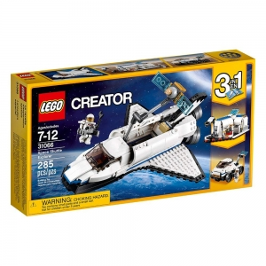 ihocon: LEGO Space Shuttle Explorer 31066 Building Kit (285 Piece) 樂高航天飛機探索者