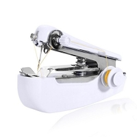 ihocon: Meharbour Mini Portable Sewing Machine Handheld Clothes Fabric Sewing Machine for Home Travel