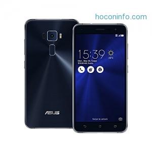 ihocon: Asus ZenFone 3 ZE520KL 32GB Sapphire Black, 5.2-inch, Dual Sim, 3GB Ram, Unlocked International Model