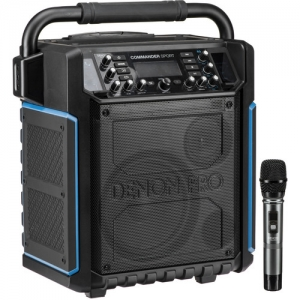 ihocon: Denon Commander Sport Portable Water-Resistant 120W All-In-One PA System with Wireless Handheld Microphone  便攜式無線麥克風擴音系統