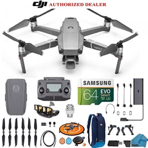 ihocon: DJI Mavic 2 PRO Drone Quadcopter with Hasselblad Camera HDR Video UAV Adjustable Aperture Bundle Kit with Must Have Accessories 無人空拍機+64GB記憶卡+背包+配件