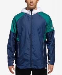 ihocon: adidas Men's Sport ID Colorblocked Hooded Jacket - 2色可選