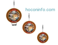 ihocon: Gotham Steel 1402  3 Piece Nonstick Frying Pan Set, 9.5/+11/+12.5 不沾鍋