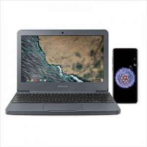 ihocon: Samsung Galaxy S9, Midnight Black and Chromebook 3 4GB RAM
