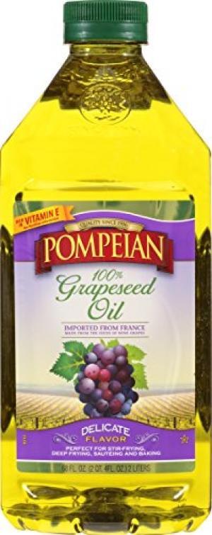 ihocon: Pompeian Grapeseed Oil, 68 Ounce 葡萄籽油