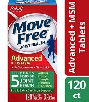 ihocon: Move Free Glucosamine & Chondroiton Plus MSM Advanced Joint Health Supplement Tablets, 120 count)