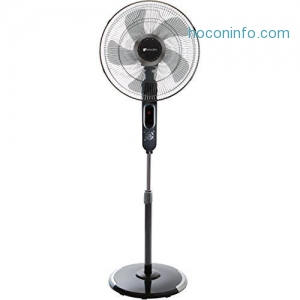 ihocon: Avalon 16 Stand Fan Adjustable Height Digital Display Oscillating 6 Speed 涼風扇