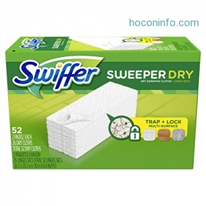 ihocon: Swiffer Sweeper Dry Sweeping Pad, 52 Count