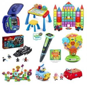 [Amazon 今日特賣, 快買聖誕禮物] VTech, Peppa Pig, LeapFrog, LEGO, Green Toys….玩具 特價優惠