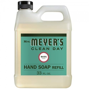 ihocon: Mrs. Meyers - Liquid Hand Soap Refill, Basil - 33 Ounce 洗手液皂