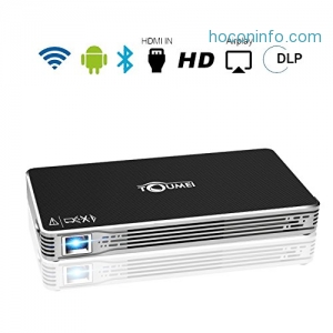 ihocon: TOUMEI Mini Projector 迷你投影機