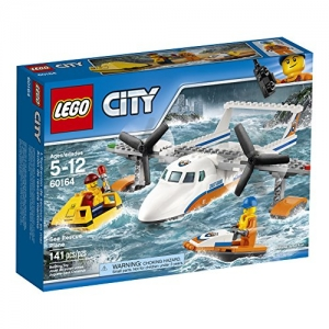 ihocon: LEGO City Coast Guard Sea Rescue Plane 60164 Building Kit (141 Piece)