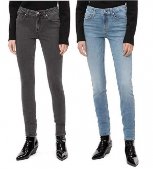 ihocon: Calvin Klein womens CKJ 011 Mid Rise Skinny Fit Jean女士牛仔褲