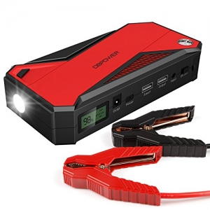 ihocon: DBPOWER 600A 18000mAh Portable Car Jump Starter 便攜式汽車啟動器