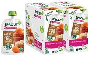 ihocon: Sprout Organic Baby Food Pouches Stage 2 Sprout Baby Food有機嬰兒食品
