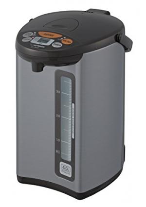 ihocon: Zojirushi CD-WCC40 Micom Water Boiler & Warmer, Silver象印電熱水瓶